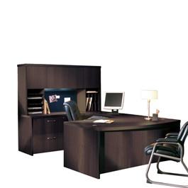 Aberdeen Series U-Shaped Desk w/Hutch