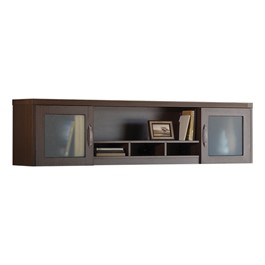 Aberdeen Series Wall Mount Hutch - Mocha