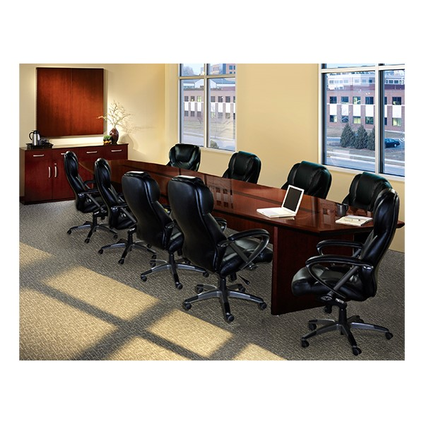 "Corsica Series Boat-Shaped Conference Table (54"" W x 240"" L)"