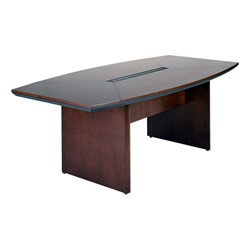 Corsica Series BoatShaped Conference Table W X L At - L shaped conference table