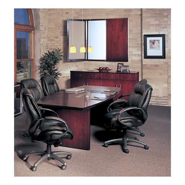 Corsica Series Boat-Shaped Conference Table