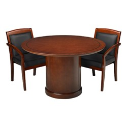 Sorrento Series Round Conference Table At School Outfitters - Series a conference table