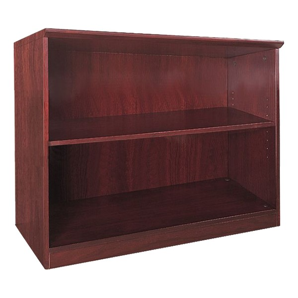 Corsica Series Bookcase – Two Shelves, Cherry