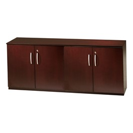 Corsica Series Low Wall Cabinet w/ Doors – All Wood, Sierra Cherry