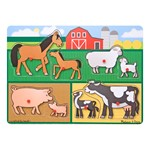 Farm Peg Puzzle (8 Pieces)