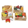 Food Groups Wooden Play Set