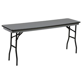 NLW Series ABS Plastic Top Training Table - Shown with standard legs.