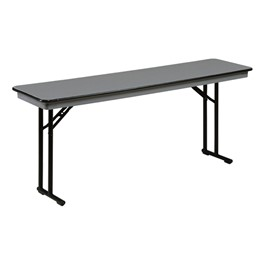 NLW Series ABS Plastic Top Training Table - Shown with comfort legs.