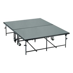 Mobile Stage Section w/ Polypropylene Deck