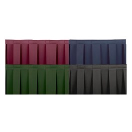 Box Pleat Skirting - Various color options
