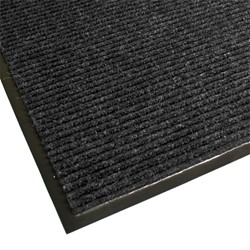 Guardian Golden Series Dual-Rib Indoor Walk-Off Mat - Charcoal