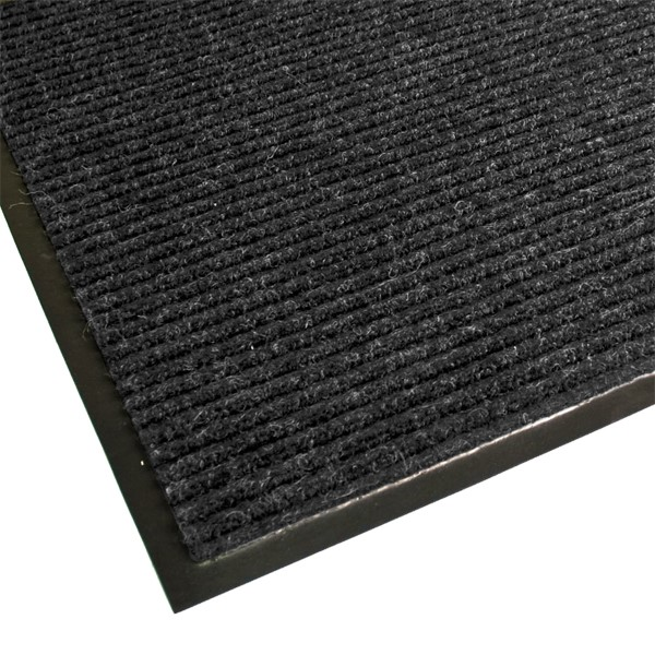 Guardian Golden Series Dual-Rib Indoor Walk-Off Mat - Charcoal
