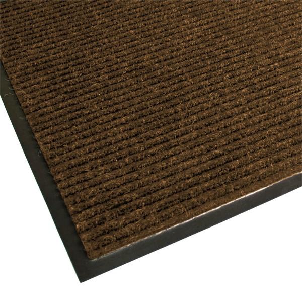 Guardian Golden Series Dual-Rib Indoor Walk-Off Mat - Chocolate