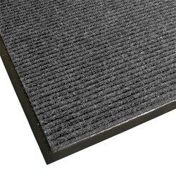Guardian Golden Series Dual-Rib Indoor Walk-Off Mat - Gray