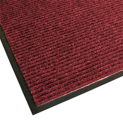 Guardian Golden Series Dual-Rib Indoor Walk-Off Mat - Red