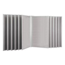 7\' H Swinging Panel Display - Wall Model
