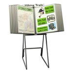 Freestanding Presentation Display