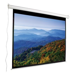 "Motorized Projection Screen - Widescreen Format (96"" W x 64\"" H)"