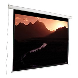 "Motorized Projection Screen - Widescreen Format (107"" W x 72\"" H)"