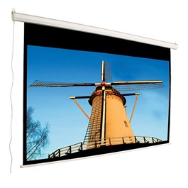 "Motorized Projection Screen - Widescreen Format (84"" W x 57\"" H)"