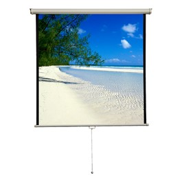 "Manual Projection Screen - Square Format (70"" W x 70\"" H)"