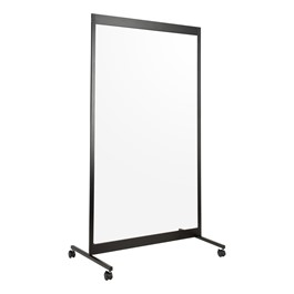 Norwood Commercial Furniture Clear Social Distancing Single Panel Room Divider