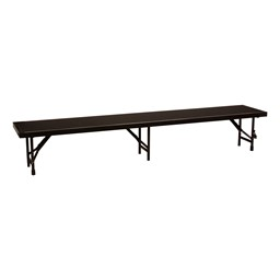 "Straight Standing Choral Riser Section w/ Carpet Deck (96"" L x 18"" D x 16"" H)"