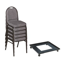 250 Series Stack Chairs & Dolly Package