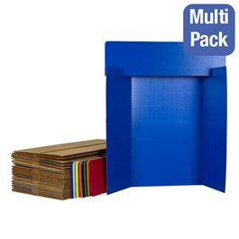 Assorted-Color Corrugated Project Boards w/ Headers