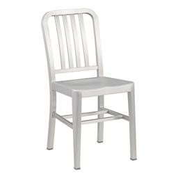 "Aluminum Café Chair - 18"" Seat Height"