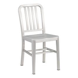 "Aluminum Café Chair - 18\"" Seat Height"