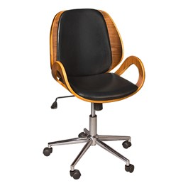 Bentwood Office Chair w/ Loop Arms