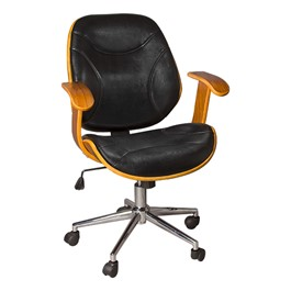 Bentwood Office Chair w/ Arms