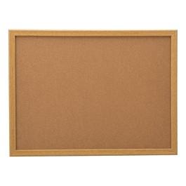 Cork Bulletin Board w/ Oak Frame
