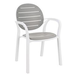 Indoor/Outdoor Stack Chair - Gray