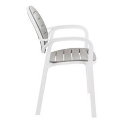 Indoor/Outdoor Stack Chair - Side