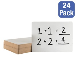 Dry Erase Lapboards - Package of 24