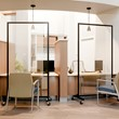 Healthy Safeguard Clear Room Divider