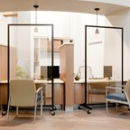 Clear Room Dividers