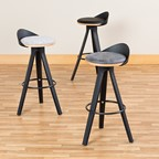 Low-Back Café Stool