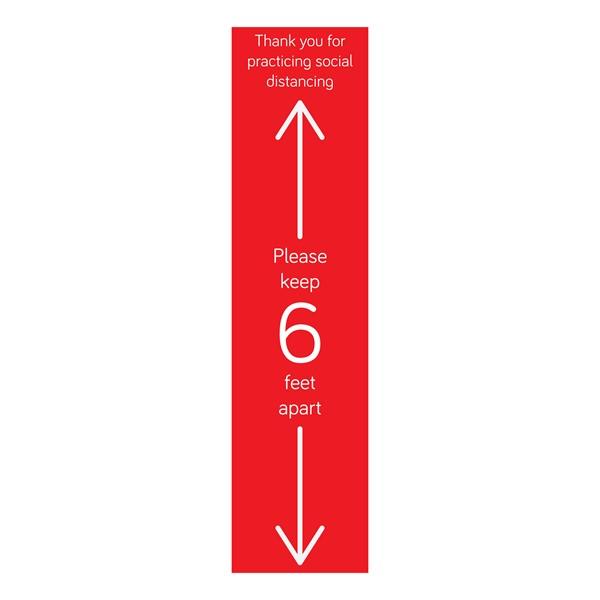 Please Keep 6ft Apart Runner