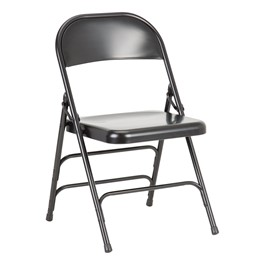 6700 Series Triple-Brace Steel Folding Chair