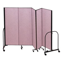 "6\' 8"" H Freestanding Portable Partition"