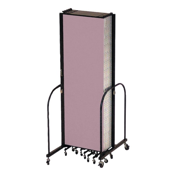 "7' 4"" H Freestanding Portable Partition - 7 Panels (13' 1"" L)"
