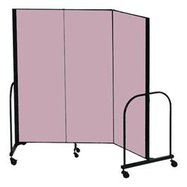 """8\' H Freestanding Portable Partition - 3 Panels (5\' 9\"""" L)"""