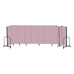 """6' H Freestanding Portable Partitions - 11 Panels (20' 5"""" L)"""