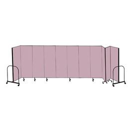 """6\' H Freestanding Portable Partitions - 11 Panels (20\' 5\"""" L)"""