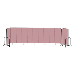 "8\' H Freestanding Portable Partition - 13 Panels (24\' 1"" L)"