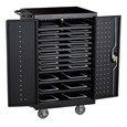 24-Outlet Tablet Recharging Cart