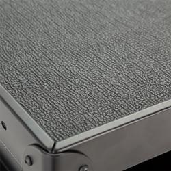 Adjustable-Height Metal AV Cart w/ Electric - Surface